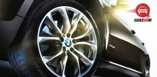 BMW X6 xDrive 40d M Sport Exterior Tyre View