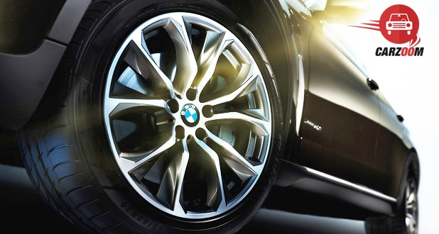 BMW X6 xDrive 40d M Sport Exterior Tyre View