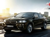 BMW X6 xDrive 40d M Sport Exterior Side View