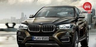 BMW X6 xDrive 40d M Sport Front View