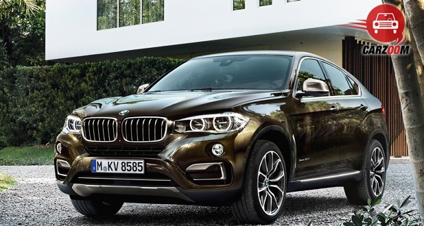 BMW X6 xDrive 40d M Sport Front and Side View