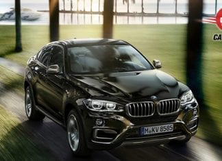 BMW X6 xDrive 40d M Sport Front and Top view
