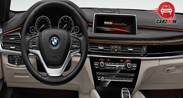 BMW X6 xDrive 40d M Sport Interior Dashboard