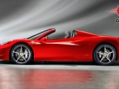 Ferrari 458 Spider Exterior Side View