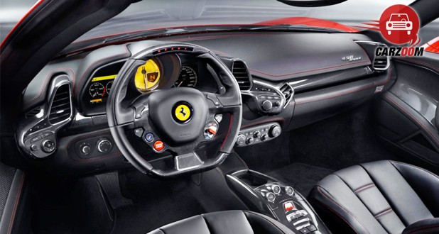 Ferrari 458 Spider Interior Dashboard