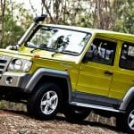 Force Gurkha Exterior Yellow