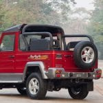 Force Gurkha Soft Top Back Side View