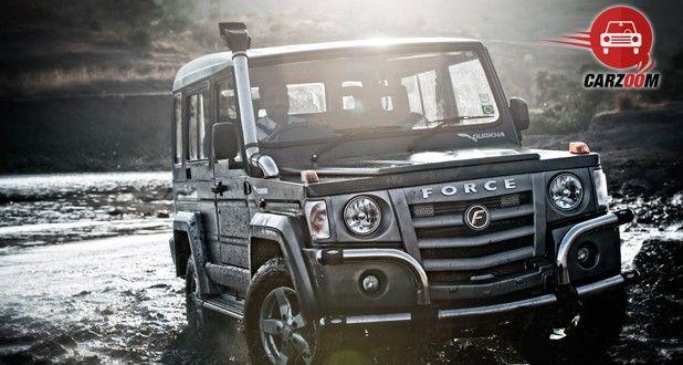Force Motors Gurkha Hard Top Exteriors