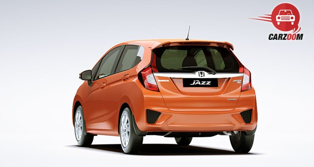 Honda Jazz Back Side View