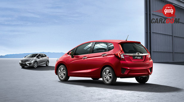 Honda Jazz Back View