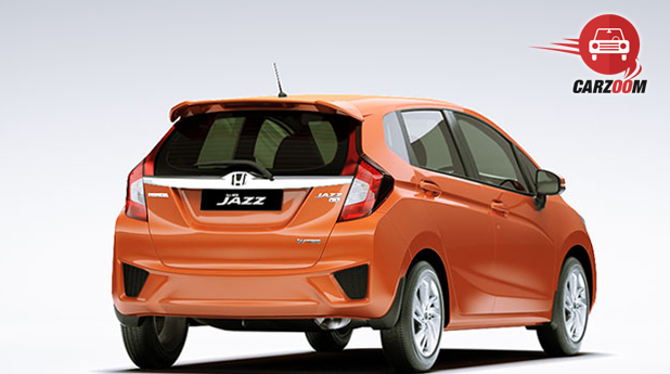 Honda Jazz Exteriors Back View