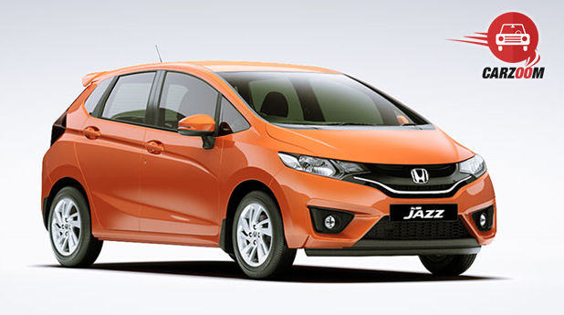Honda Jazz Exteriors Front and Side View