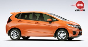 Honda Jazz Exteriors Side View