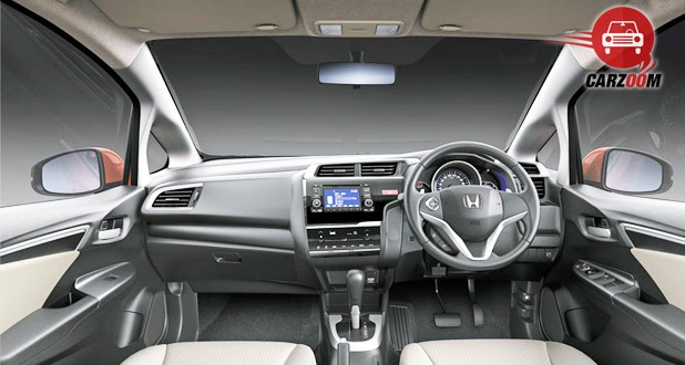 Honda Jazz Interior Dashboard View