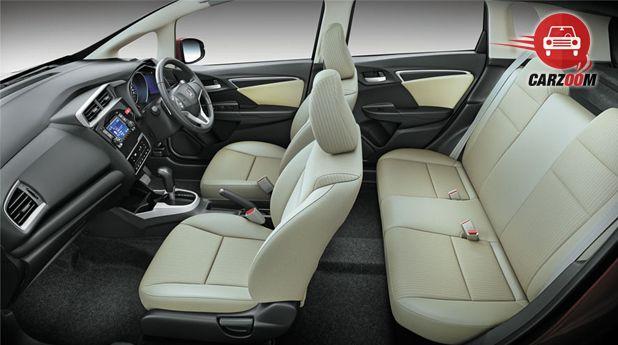 Honda Jazz Interior Seat View