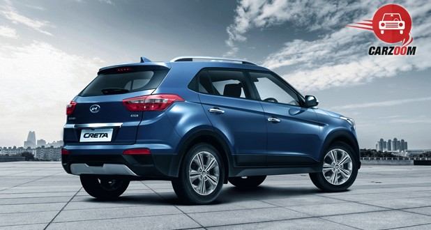 Hyundai Creta Exterior Back and Side View