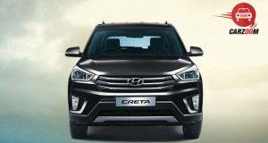 Hyundai Creta Exterior Front Phantom Black