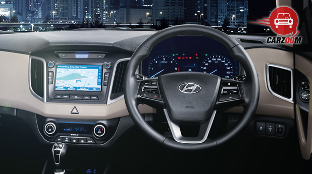 Hyundai Creta Interior Dashboard