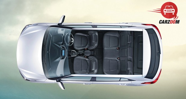 Hyundai Creta Interior Top View