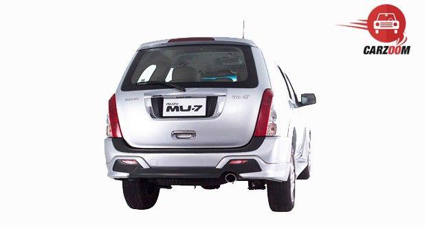 Isuzu MU 7 AT Premium Exterior Back View