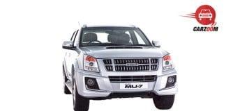 Isuzu MU 7 AT Premium Exterior Front View