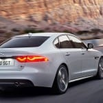 Jaguar XF Aero Sport Edition Back Side View
