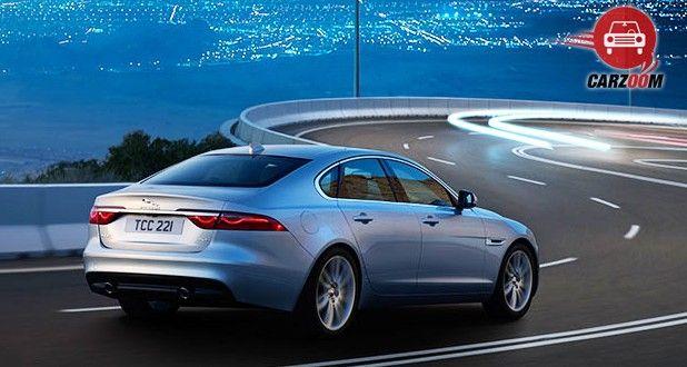 Jaguar XF Aero Sport Edition Exterior Back ViewJaguar XF Aero Sport Edition Exterior Back View