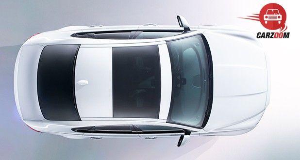 Jaguar XF Aero Sport Edition Exterior Top View