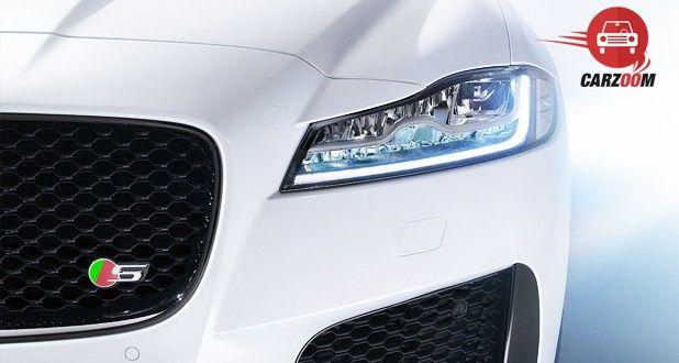 Jaguar XF Aero Sport Edition Front Headlight View