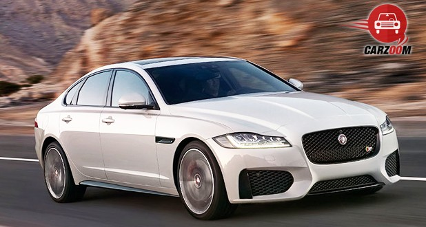 Jaguar XF Aero Sport Edition Front Side View