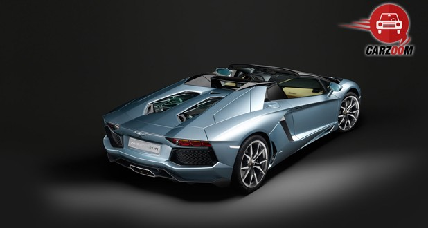 Lamborghini Aventador Back Side View