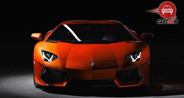 Lamborghini Aventador Exteriors Front View