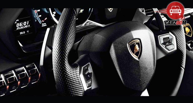 Lamborghini Aventador Interior Steering Wheel