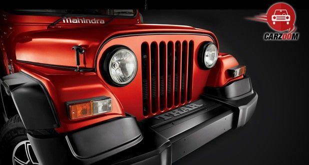 Mahindra Thar CRDe Exterior Front Bumper