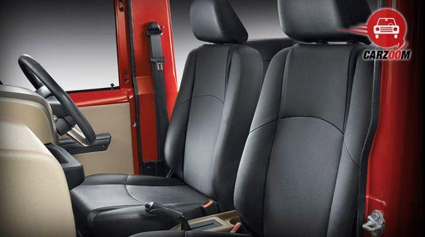 Mahindra Thar CRDe Interior Seat View