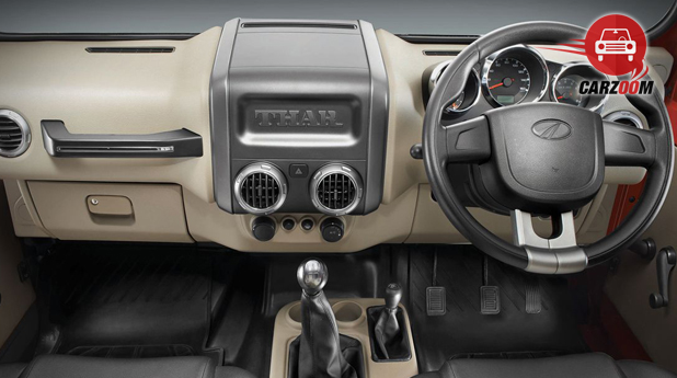 Mahindra Thar CRDe Internel Dashboard