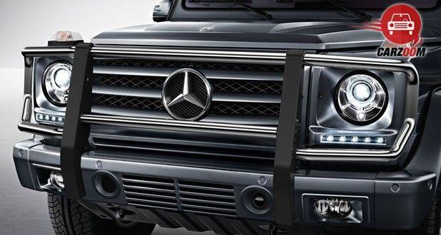 Mercedes Benz G Class G63 AMG Front Bumper View