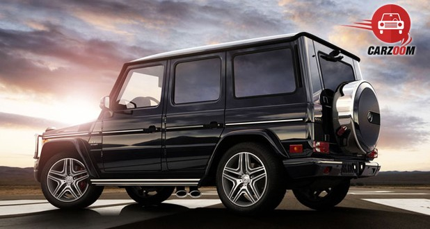 Mercedes Benz G Class G63 AMG Side and Back View