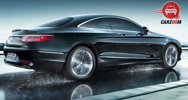 Mercedes-Benz S-Class Coupe Back and Side View