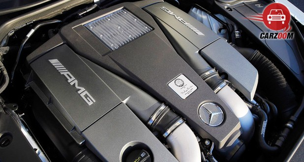 Mercedes-Benz S-Class Coupe Engine View