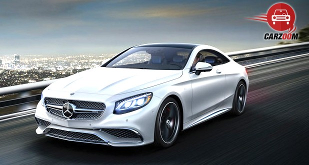 Mercedes-Benz S-Class Coupe Exterior Front