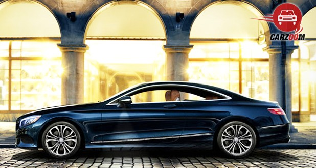 Mercedes-Benz S-Class Coupe Exterior Side View Black