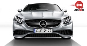 Mercedes Benz S Class Coupe Front SideView