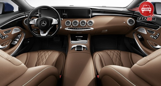Mercedes-Benz S-Class Coupe Interior Dashboard