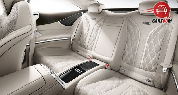 Mercedes-Benz S-Class Coupe Interior Seat White View
