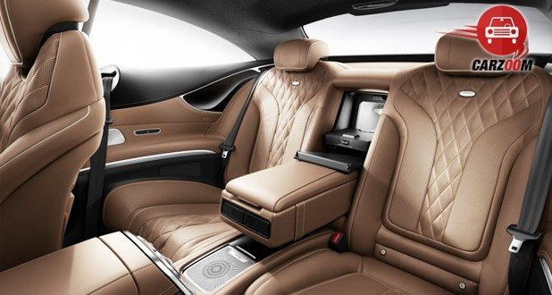 Mercedes-Benz S-Class Coupe Interior Seats