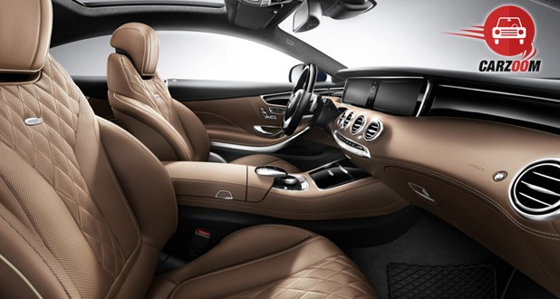 Mercedes-Benz S-Class Coupe Interiors