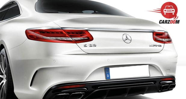 Mercedes-Benz S-Class Coupe Tail Light View