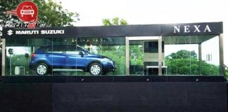 Nexa dealership with S Cross Launch