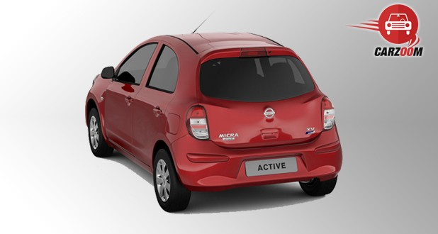 Nissan Micra Active Exterior Back View
